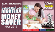 Monthly Money Saver - May 2013