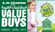 Oman Value Buys March - April 2013