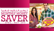Monthly Money Saver  April - May 2015