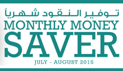 Monthly Money Saver July - August 2015