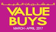 Value Buys March - April 2017