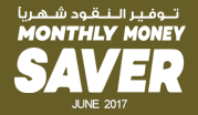 Monthly Money Saver - June 2017