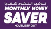 Monthly Money Saver - November 2017