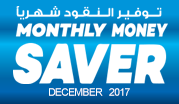 Monthly Money Saver - December 2017