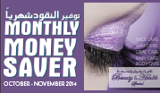 Monthly Money Saver October - November 2014