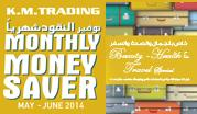 Monthly Money Saver May - June 2014