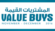 Value Buys November - December 2016
